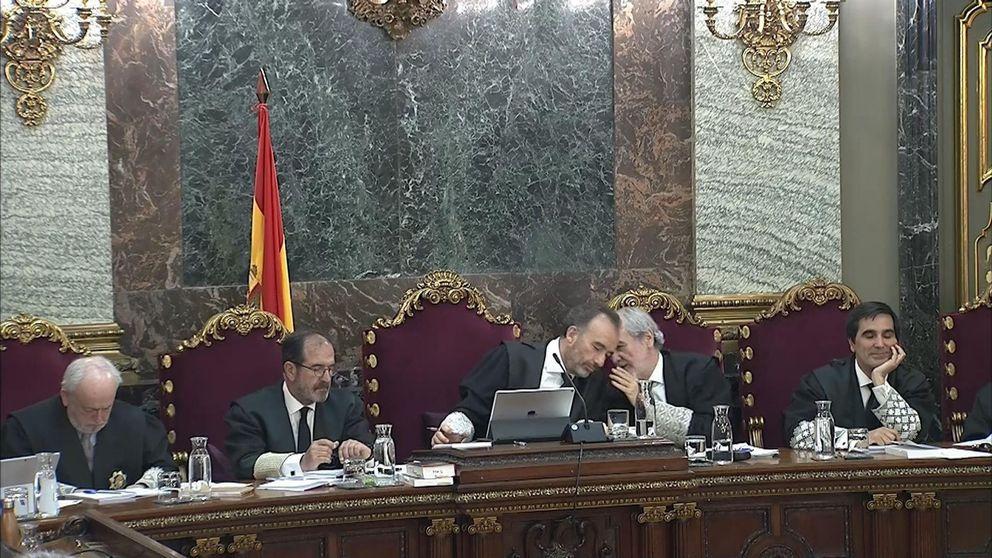 La defensa en el 'juicio del procés' insiste con los vídeos y Marchena frena: Vamos a hacer como si eso no lo hubiera propuesto usted