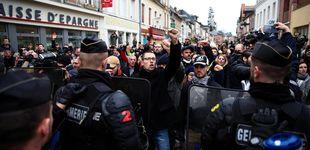Post de La crisis de Francia en un acto: blindaje a Macron en un pueblo de 3.500 personas