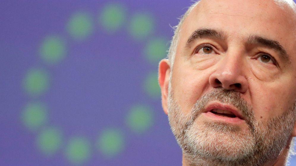 Foto: El comisario europeo de Asuntos Económicos y Financieros, Fiscalidad y Aduanas, Pierre Moscovici. (EFE)