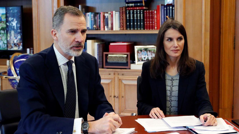 ¿Quién tiene el mando en Zarzuela? Lo que han visto Felipe y Letizia este confinamiento