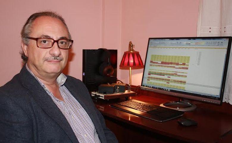 Foto: El matemático José Antonio Guerrero