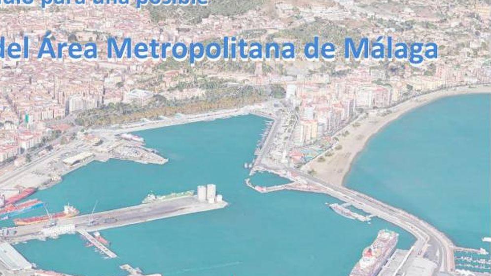 Foto: Portada del estudio del proyecto de la vía perimetral de la provincia de Málaga.