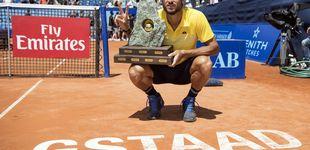 Post de Feliciano López aprende en Gstaad lo que es ganar en tierra batida
