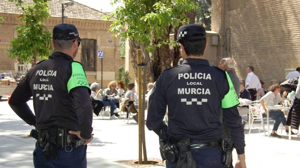 Foto: Agentes de la Policía Local de Murcia (Policía de Murcia)