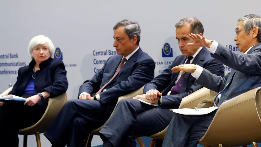 Foto: Presidentes de los principales Bancos Centrales. (Reuters)