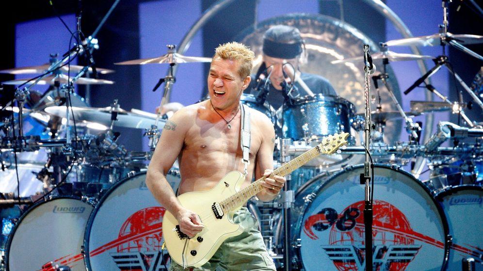 Foto: Eddie Van Halen en concierto (Reuters)
