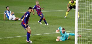 Post de El único espectáculo de un Barça horrible fueron los fuegos artificiales de fuera (1-0)