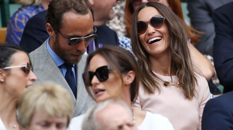 James Middleton y Pippa Middleton. (Reuters)