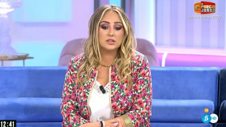 Rocío Flores, en 'El programa de Ana Rosa'. (Mediaset España)