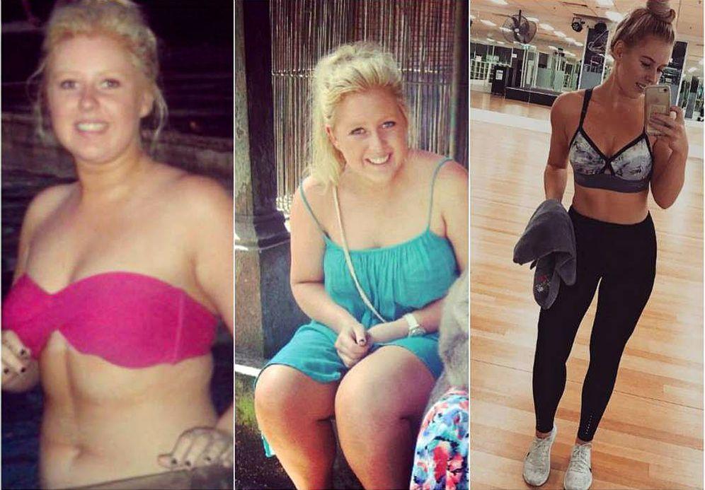 Cambios fisicos antes y despues de adelgazar