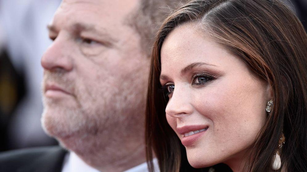 Foto: Los Weinstein, cuando aún estaban casados. (Getty)