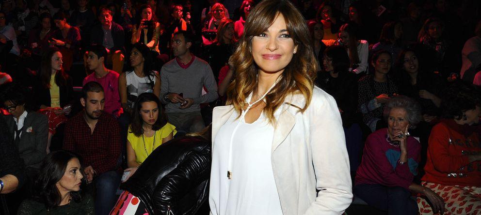 Foto: La presentadora Mariló Montero en el 'front row' de Agatha Ruiz de la Prada (Gtres)