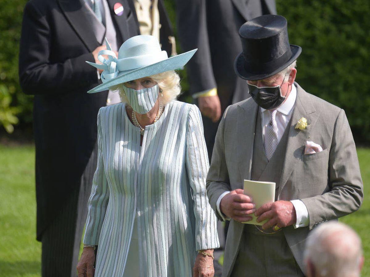 Foto: Carlos de Inglaterra y Camilla. (Getty)