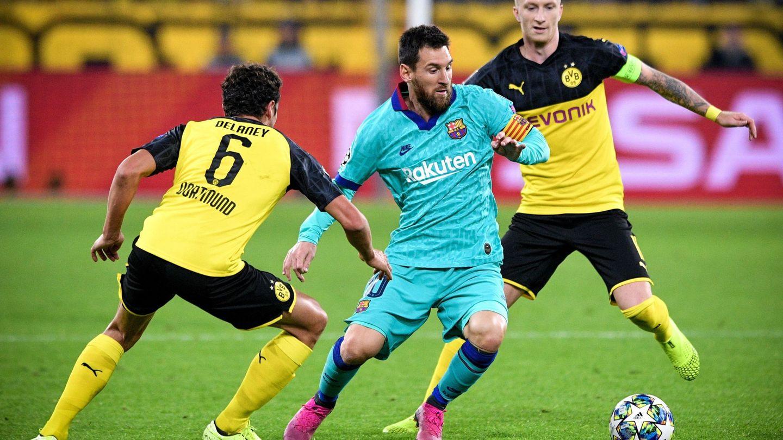 Messi debutó esta temporada en competición oficial con el Barça. (EFE)