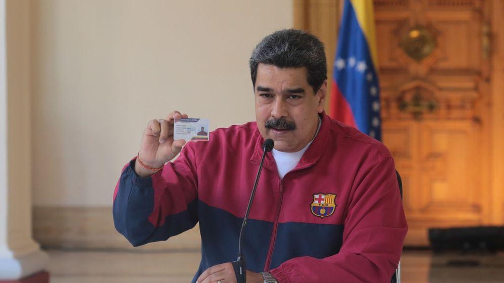 Foto: El presidente venezolano Nicolás Maduro. (EFE)