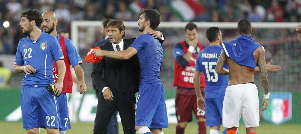 Italia ya tiene el sabor de Antonio Conte: buen debut 'azzurro' ante Holanda