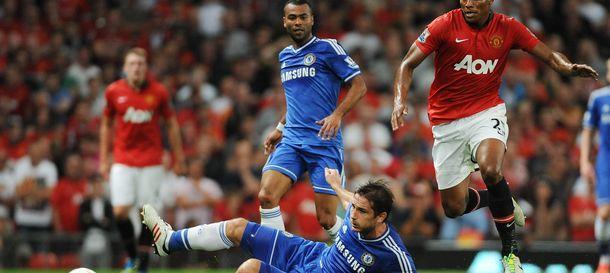 Foto: Manchester y Chelsea firmaron un pobre empate (Efe).