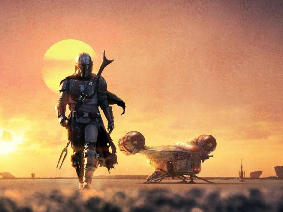 Foto: Cartel promocional de 'El mandaloriano'. (Lucasfilm Ltd.)