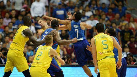 La monumental pelea que avergüenza al baloncesto mundial: ¡13 expulsados!