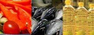 Los precios de los pimientos verdes, los gallos y la merluza se desploman hasta un 24,8% en enero