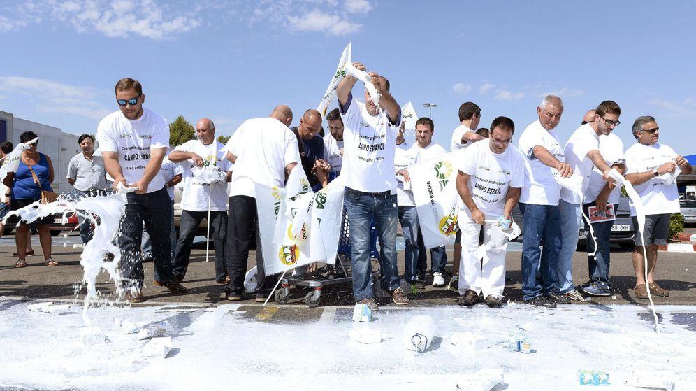 Foto: Protestas en Valladolid. (EFE)
