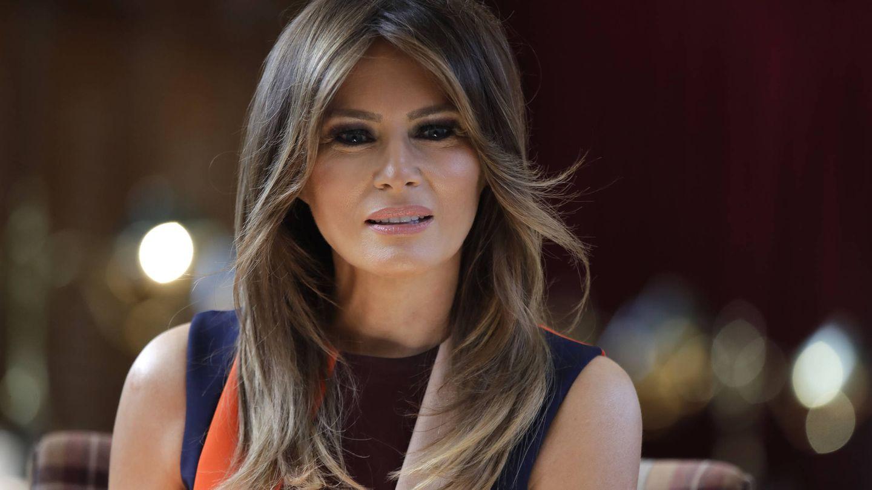 Melania, para algunos el topo de la Casa Blanca. (Getty)