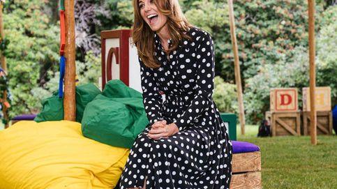 Kate Middleton vuelve a inspirarse en Lady Di y luce su estampado predilecto