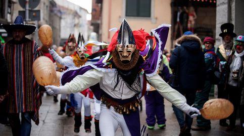 Pantallas, felos, cigarróns... todos los protagonistas del Entroido de Galicia