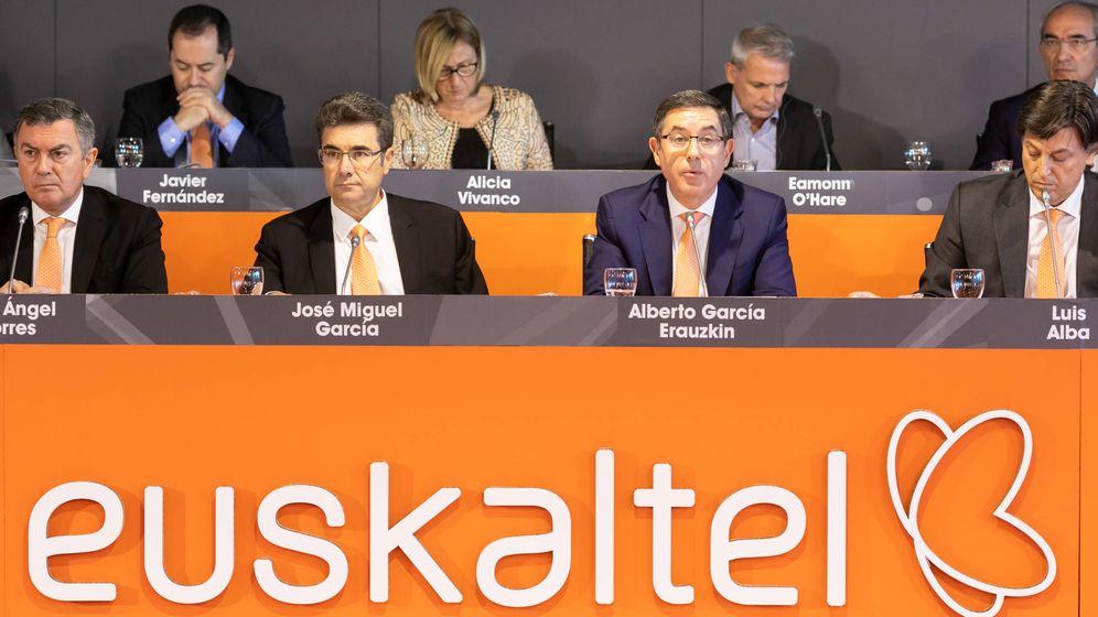 Foto: El consejo de Administración de Euskaltel.