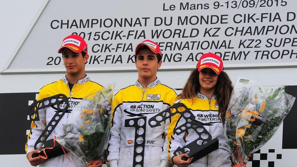 Histórica Marta García: campeona del FIA Academy Trophy con 15 años