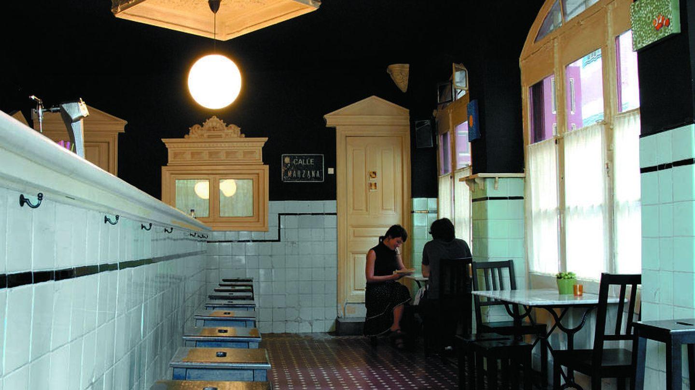 El interior del bar Marzana conserva su estética original de los años 50 (Cortesía)