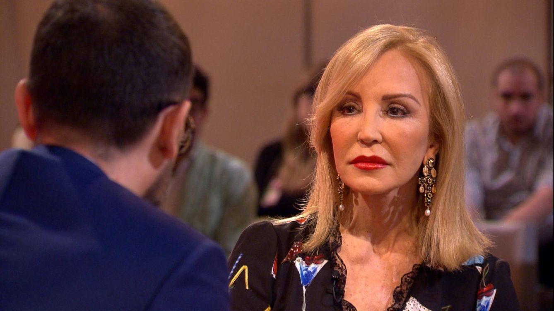 Carmen Lomana, tras la muerte de su marido: Le metí el sujetador en el sudario