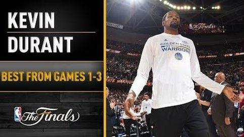 Kevin Durant, camino del 'MVP' de la final de la NBA