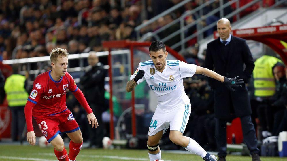 Foto: Ceballos solo ha jugado 715 minutos esta temporada, más de la mitad de ellos en Copa del Rey. (EFE)