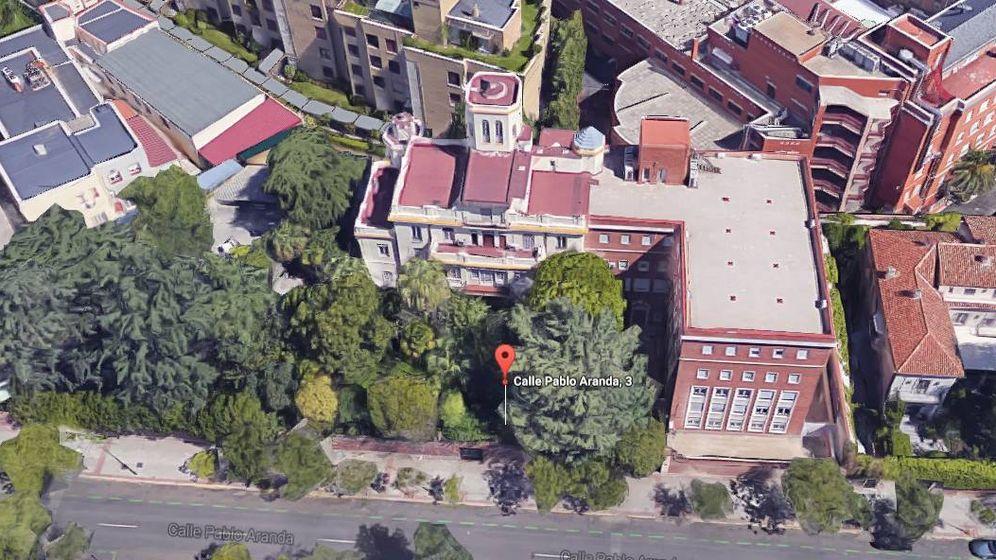 Foto: Vista aérea del nuevo proyecto del clan Capriles en Madrid.