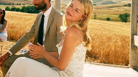 La novia francesa que se casó con un vestido original de John Galliano de los 90