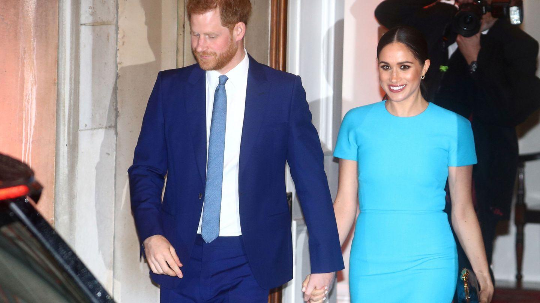 El príncipe Harry y Meghan Markle, en uno de sus últimos compromisos oficiales. (Reuters)