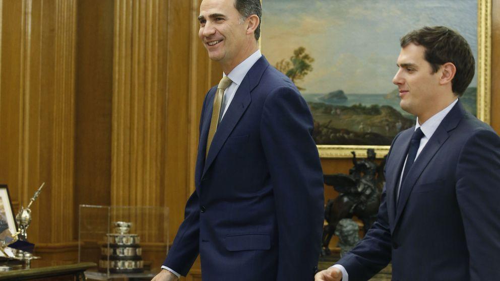 Rivera ofrece al Rey los escaños de C's para desencallar la situación