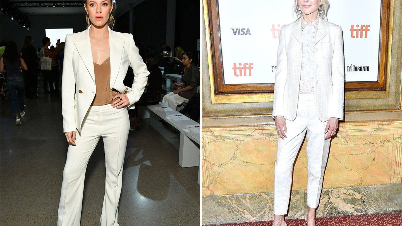Daville Savre y Nicole Kidman son algunas de las que ya han apostado por el sastre en blanco. (Getty Images)