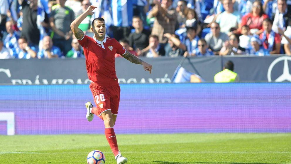 Vitolo, el tráiler de un Sevilla que impone respeto en Europa y sorprende en la Liga