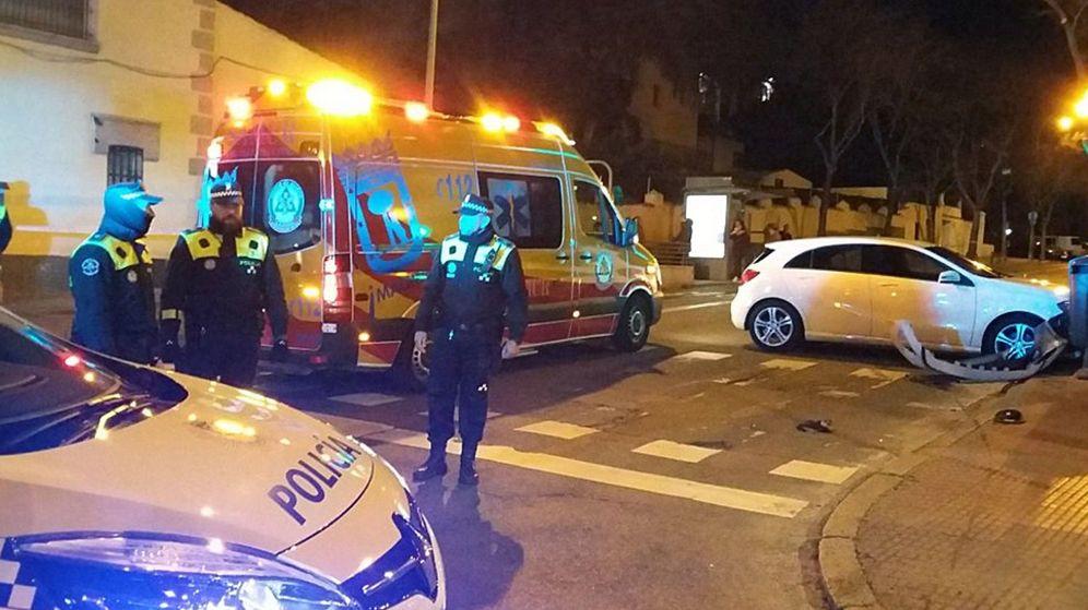 Foto: Un accidente de tráfico en Madrid. (EFE)