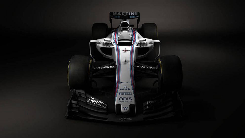 Así es el nuevo look de la Fórmula 1 de 2017: Williams muestra su monoplaza