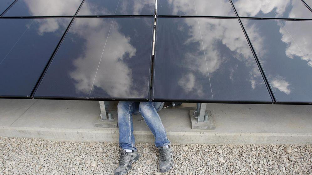 Foto: Paneles solares en Palestina. (Reuters)