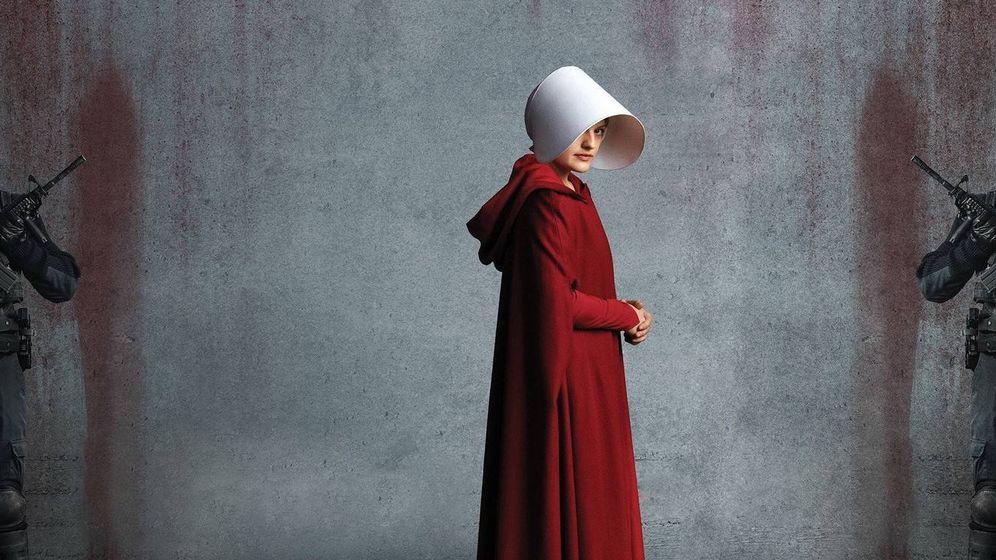Foto: June Osbourne (Elisabeth Moss) en una foto promocional de 'The Handmaid's Tale'