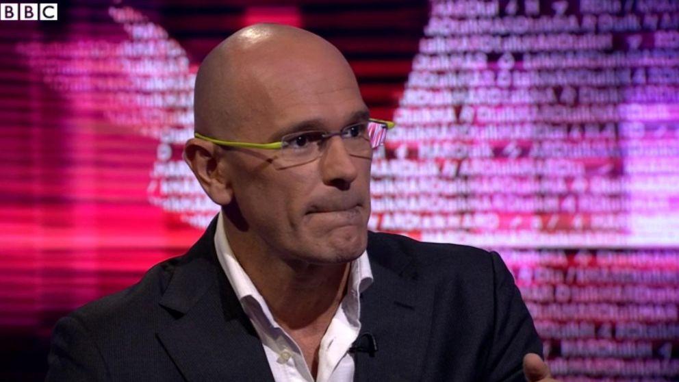 La prensa inglesa pone a Raül Romeva contra las cuerdas