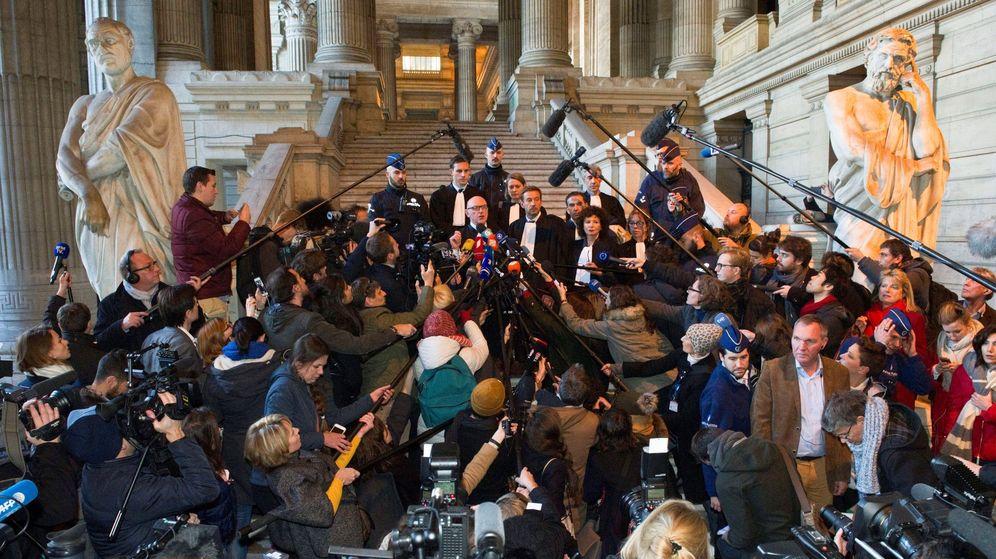 Foto: Comparecen ante el juez belga Puigdemont y exconsejeros de la Generalitat. (EFE)