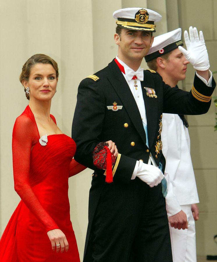 Foto: Los Reyes en Dinamarca en la boda de Federico y Mary. (Getty)