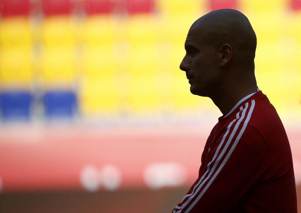 Foto: Guardiola permitió a Perarnau conocer profundamente su trabajo en el Bayern (EFE).