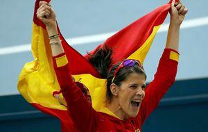 Ruth Beitia, la recompensa tardía al empeño de una saltadora incansable
