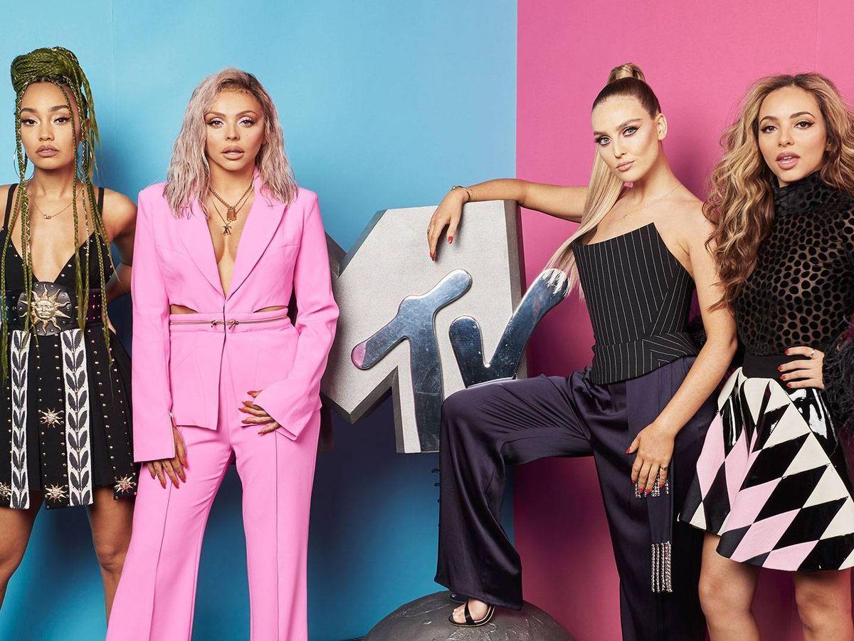 Foto: Little Mix, presentadoras de los MTV EMAs 2020. (Viacom)